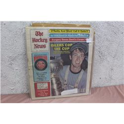 The Hockey News Paper, 1985, Wayne Gretzky, Euler's cup
