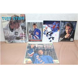 Lot Of Wayne Gretzky Literature (Tuff Stuff, The Great One, Etc)