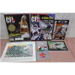 Lot Of CFL Related Books, Magazines, Etc.