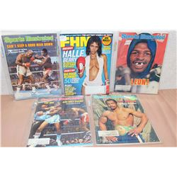 Lot Of Boxing Related Magazines (5)
