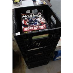 Two Crates Full Of Sports Magazines
