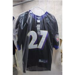 NFL (Size 48) Baltimore Ravens Jersey, New With Tags, #27 Rice