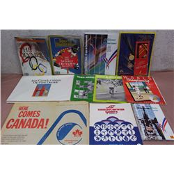 Lot of Assorted Olympics Related Literature, Publications