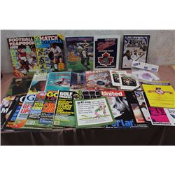 Lot of Assorted Sports Magazines