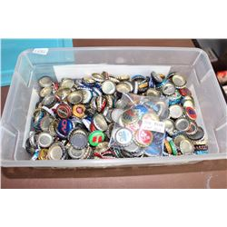 Lot of Assorted Beer Caps