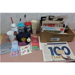 Lot Of Misc. (Coke Promotional Cops, Special Issue Papers, Calendars, Etc.)