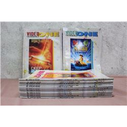 Lot of Assorted Video One VHS Guides