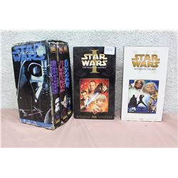 Lot of Star Wars VHS