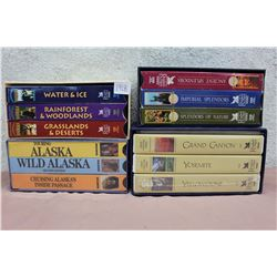 Lot of Assorted Reader's Digest VHS Collections