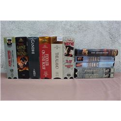Lot of Movie Classics on VHS