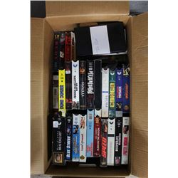 Lot of Assorted VHS Tapes