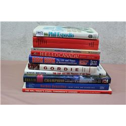 Assorted Hockey-Related Books