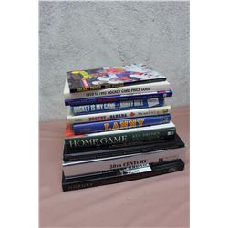 Lot of Assorted Hockey-Related Books