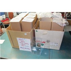 Lot of Beanie Baby Plastic Display Boxes (24)