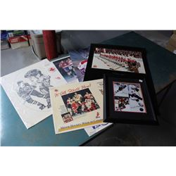 Lot of Hockey-Related Prince, Pictures, Etc.