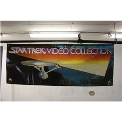 Large Star Trek Video Collection Promotional Banner