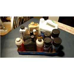 Box Of Assorted Oils