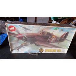 AirFix Hurricane MK 1/24 Scale Model Plane In Box With Plastic