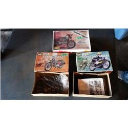 Model Motorbike (3) (2 Boxes Not Complete)