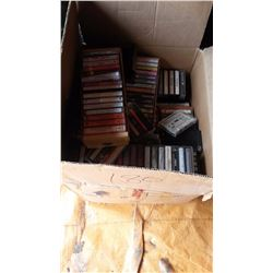 Lot Of Cassette Tapes, Computer Games, Misc. Books