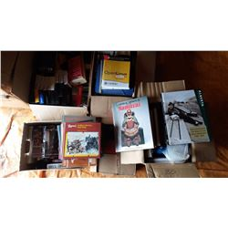 VCR Tapes, Cassette Tapes, Military Books, Misc. Books
