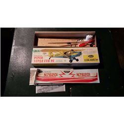Guillow's Piper Super Club 95 Airplane Model (Wooden)