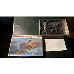 Morser Karl German 600mm On Railway carrier Model (1/72 Scale)