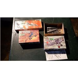 Model Planes (3) (2 Sealed) Complete