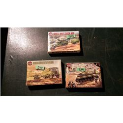 Models (3) (All Sealed)