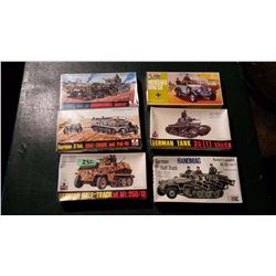 Models (6) (4 Sealed) Complete