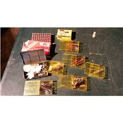 Gun Cleaning Supplies & Brushes, Empty Ammunition Boxes (2)