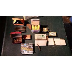 Assorted Ammunition & Boxes