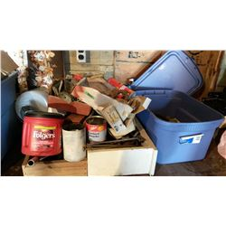 Misc. Scrap Iron, Plumbing Supplies, Etc.