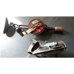 Miller's Falls No 85 hand Plane, Hand Drill