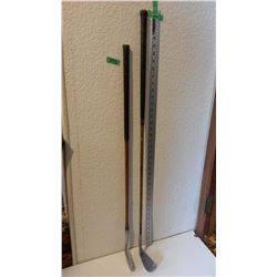 Duralite Iron #4, Thistle Irons Golf Clubs Both With Wooden Shaft