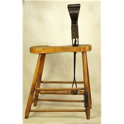 Early Leather Stitching Horse