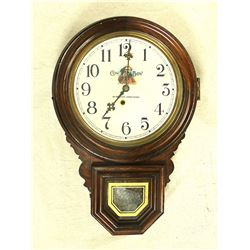 Antique Western Regulator Clock
