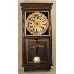 Antique Regulator Clock