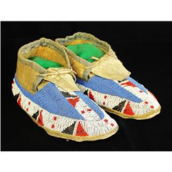 Pre-1900 Sioux Moccasins