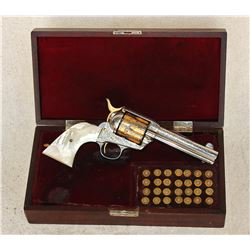 Cased Engraved Colt Single Action