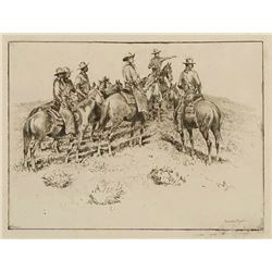 Edward Borein Etching