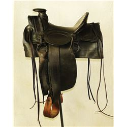 Collins and Morrison Halfseat Saddle