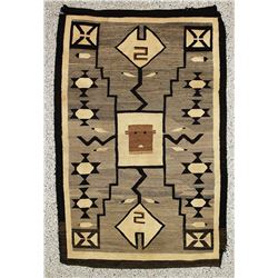 Navajo Pictorial Story Weaving
