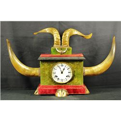 Fabulous Horn Clock