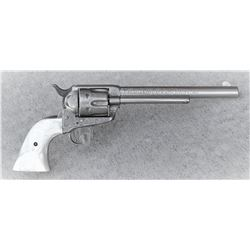 Engraved Colt Single Action Revolver