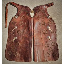George Lawrence Studded Batwing Chaps