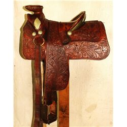 Mexican Silver Saddle