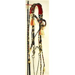 Rolled Horsehair Bridle