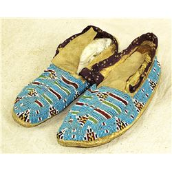 Woman's Santee Sioux Moccasins