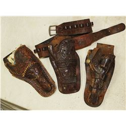 Heiser Tooled Holsters